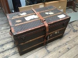 Early 1900's All Original Louis Vuittong Travel Trunk in amazing original condition.