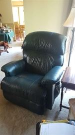 Green Lazboy recliner - $200