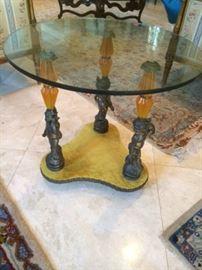 Glass Circular Table