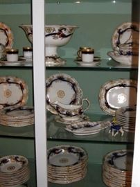 large davenport china set from Augusta, Ga