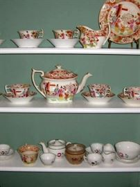 just a sampling of early china & porcelain in house