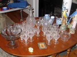 early american flint glass, rings like a bell