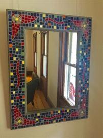 Mosaic Mirror (34'' x 26'')