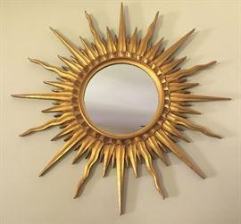 Gilt Sunset Mirror (33'')