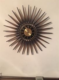 Sorocco Starburst Retro Clock
