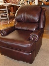 Bradington-Young leather reclining chair
