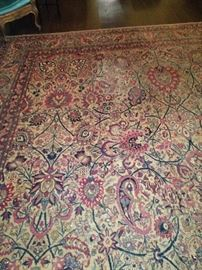 Extra large antique rug