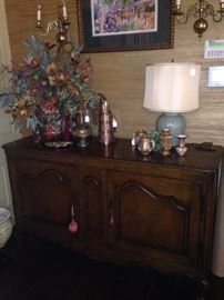 Fruitwood buffet with great storage