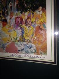 LeRoy Neiman framed art