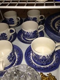 Blue Wilow dishes