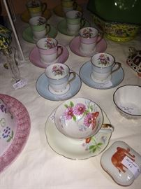 More lovely cups and saucers