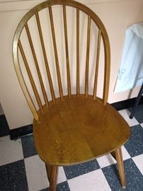 One of four Windsor chairs