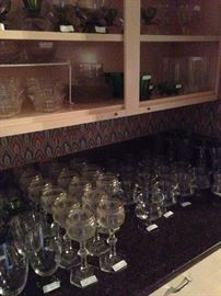 Great glassware collections