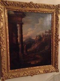 More framed antique art