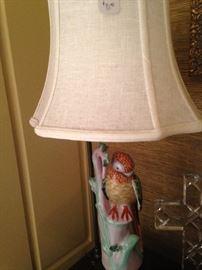 Darling parrot lamp