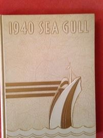 1940 Sea Gull yearbook from Gulf Park College