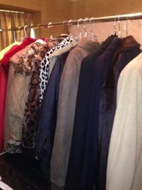 Great selection of coats