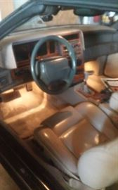 Interior in excellent condition