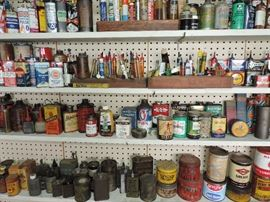 showing a GREAT VARIETY OF THE OIL RELATED ITEMS IN THIS SALE !