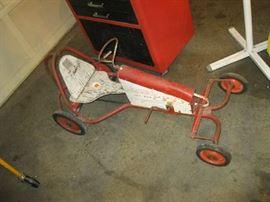 Evans 1880 Pedal Pusher Go Cart