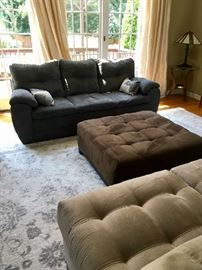 Couches, Lounges, Ottomans
