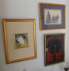 Framed Art (prints, paintings, objects and others)