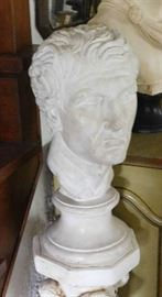 Early 20th Century Academic Plaster Bust