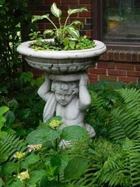Wonderful Garden Sculptures, Fountains, Pots and tools