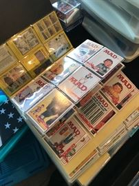 All types of card collections Massive
