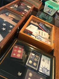 Coin collections -