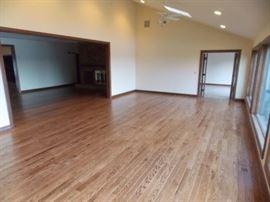reclaimed red oak floors