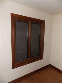 oak casement window