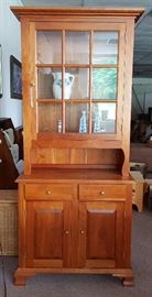 "New - Cherry Bedford 36"" Dutch Cupboard"