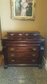 Antique Empire Chest of Drawers