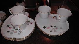 Nippon serving plates