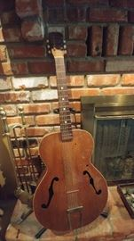 Gibson acoustic guitar     LIVING ROOM