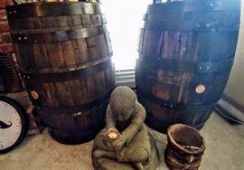 Not 1 but 2 barrels!     LIVING ROOM