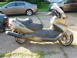 2008 Suzuki Burgman 650