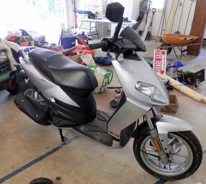 Aprilia Motor Scooter