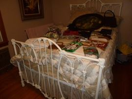 Early Cast Iron Bed