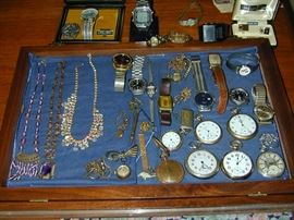 Pocket Watches, Vintage Costume Jewelry, Pocket Watch Chains