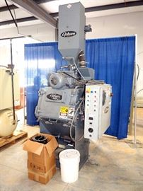 Gibson Wheel Blast Tumbler / Wheel Abrader Type, Model #1.5 Tumbler, 783 Hours, With Gibson Reclamation And Filter System
