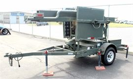 Heavy Duty DOT And Homeland Security Video Surveillance And Communication Trailer