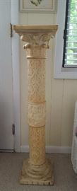 Tall ornate Pedestal Plant Stand