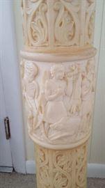 detail of pedestal
