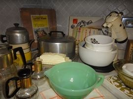 Vintage Kitchen supplies