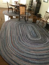 Huge and Mint- 3 of these are New England Minuteman Wool- This one is 14Ftx10ft oval- Google this- $3,500 new.