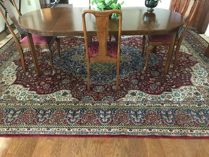 Superb Palace Size Handknotted Turkish Oushak Silk Rug 15ft x 12ft. In near mint condition.Cost 40 years ago was $20,000. Unbelievable and Stunning!!