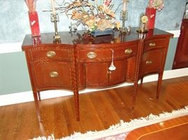 Baker mahogany sideboard in the Historic Charleston collection