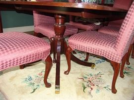 Pedestal of dining table